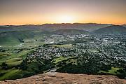 San Luis Obispo Community View from Bishop Peak