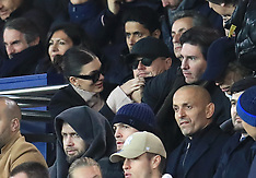 Leonardo DiCaprio and girlfriend Cami Morrone at PSG v Liverpool Football game - 28 Nov 2018