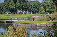 HAARZUILENS  - Hole 2 par 3,    , Golfclub De Haar , van 9 naar 18 holes. .  COPYRIGHT KOEN SUYK
