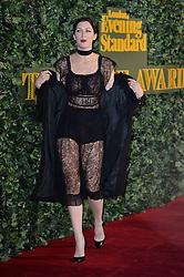 Margot Stilley bei den London Evening Standard Theatre Awards in London / 131116<br /> <br /> *** The London Evening Standard Theatre Awards held at the Old Vic Theatre, London, UK, November 13, 2016 ***