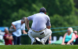 May 25, 2017 - Virginia Water, United Kingdom - Richie Ramsay of Scotlandduring 1st Round for the 2017 BMW PGA Championship on the west Course at Wentworth on May 25, 2017 in Virginia Water,England  (Credit Image: © Kieran Galvin/NurPhoto via ZUMA Press)