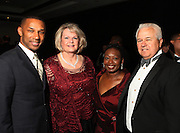 1 November 2010- New York, New York- l to r: Johnny L. Taylor Jr., President, Thurgood Marshall College Fund, Luann McKinney, Carol Campbell, and Dr. Michael McKinney, Chancellor of Texas AM University System at The 23rd Annual Thurgood Marshall College Fund Awards Dinner held at The Sheraton NY Hotel & Towers on November 1, 2010 in New York City. Photo Credit: Terrence Jennings