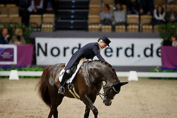 Seymour Tanya, (RSA), Ramoneur 6<br /> FEI World Cup Dressage Grand Prix <br /> FEI World Cup Neumünster - VR Classics 2017<br /> © Hippo Foto - Stefan Lafrentz