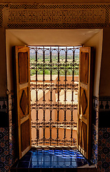 A window in the Kasbah de Taourirt, Ouarzazate<br /> <br /> (c) Andrew Wilson | Edinburgh Elite media