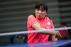 Juan XUE of China plays final match during Day 4 of SPINT 2018 - World Para Table Tennis Championships, on October 20, 2018, in Arena Zlatorog, Celje, Slovenia. Photo by Vid Ponikvar / Sportida