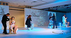 """Show """"Snow on your Tounge"""", apresentado pela Intercoiffure Países Nórdicos durante o 20 Congresso Mundial da Intercoiffure - ICD Rio 2008, que acontece de 18 a 20 de maio, no hotel Intercontinental, no Rio de Janeiro . FOTO: Jefferson Bernardes / Preview.com"""