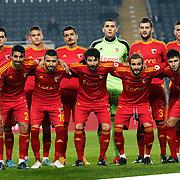 Kayserispor's players during their Ziraat Turkey CUP soccer match Fenerbahce between Kayserispor at the Sukru Saracaoglu stadium in Istanbul Turkey on Tuesday 02 December 2014. Photo by Kurtulus YILMAZ/TURKPIX