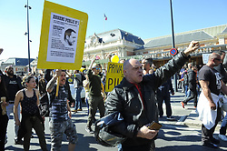March 23, 2019 - Nice, France - Les gilets Jaunes manifestent à Nice (Credit Image: © Panoramic via ZUMA Press)