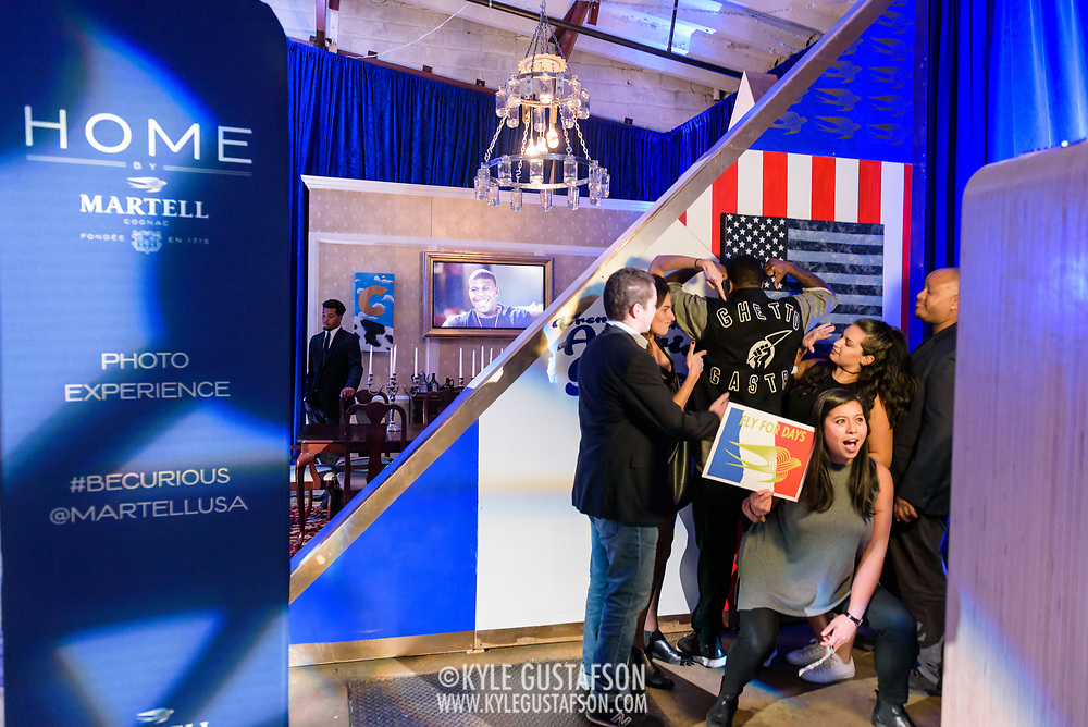 Martell Cognac event activation at Union Market in Washington, D.C.