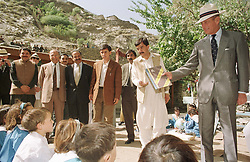 File photo dated 11/10/97 of The Duke of Edinburgh at the Aga Khan School in Bilphok, North West Frontier Province, Pakistan. Prince Philip's final public engagement takes place on Wednesday, before he retires at the age of 96.