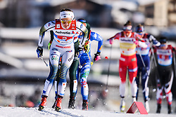 February 24, 2019 - Seefeld In Tirol, AUSTRIA - 190224 Stina Nilsson of Sweden competes in womenÃ•s team sprint semi final during the FIS Nordic World Ski Championships on February 24, 2019 in Seefeld in Tirol..Photo: Vegard Wivestad GrÂ¿tt / BILDBYRN / kod VG / 170295 (Credit Image: © Vegard Wivestad Gr¯Tt/Bildbyran via ZUMA Press)