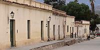 CACHI, EDIFICIOS EN CALLE ZORRILLA, VALLES CALCHAQUIES, PROV. DE SALTA, ARGENTINA