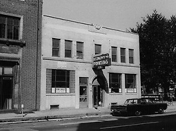 August 10, 1967 - Michigan, U.S. - The blind pig, also known as the United Community League for Civic Action, was on the second floor of Economy Printing at 9125 12th Street in Detroit. A police raid on this illegal bar and gambling joint sparked the 1967 Detroit uprisings. (Credit Image: © Detroit Free Press via ZUMA Wire)
