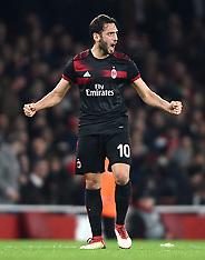 Arsenal v AC Milan, 15 March 2018
