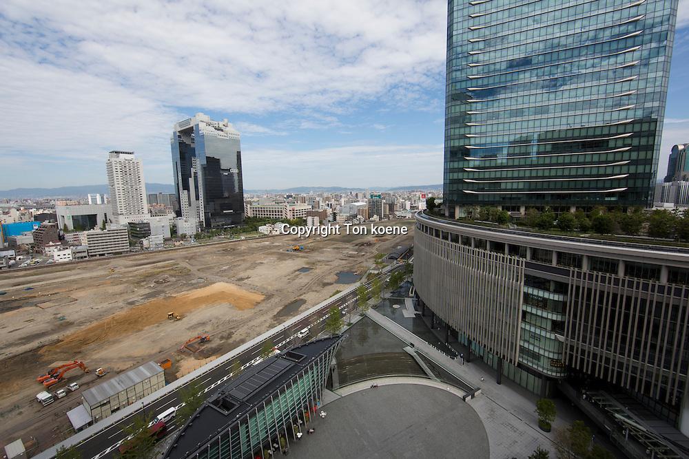 Town development in Osaka