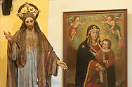 In the museum of sacred art in the church of San Pedro Claver