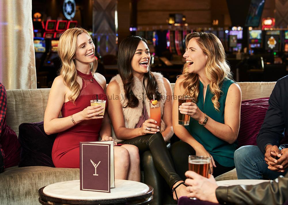San Diego California photographer for casino and restaurants