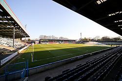 A general view of Spotland Stadium - Photo mandatory by-line: Matt McNulty/JMP - Mobile: 07966 386802 - 21/04/2015 - SPORT - Football - Rochdale - Spotland Stadium - Rochdale v Leyton Orient - Sky Bet League One
