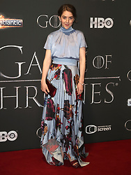Gemma Whelan attending the Game of Thrones Premiere, held at Waterfront Hall, Belfast.