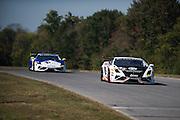 October 3-5, 2013. Lamborghini Super Trofeo - Virginia International Raceway. #50 Louis Philippe Montour, Mitchum, Lamborghini Toronto leads #14 Andrew Palmer, GMG Racing, Lamborghini of Beverly Hills