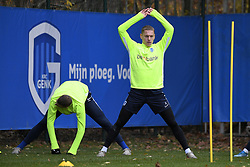 November 26, 2019, Genk, BELGIUM: Genk's Casper De Norre pictured during a training session of Belgian soccer team KRC Genk, Tuesday 26 November 2019 in Genk, in preparation of tomorrow's match against Austrian club RB Salzburg in the group stage of the UEFA Champions League. BELGA PHOTO YORICK JANSENS (Credit Image: © Yorick Jansens/Belga via ZUMA Press)
