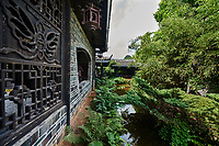 between Guilin and Yangshuo in Guangxi province  China