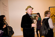 BOB AND ROBERTA SMITH, Unveiled; New art from the Middle East. The Saatchi Gallery in partnership with Phillips de Pury. Saatchi Gallery. King's Rd. London. 29 January 2009 *** Local Caption *** -DO NOT ARCHIVE-© Copyright Photograph by Dafydd Jones. 248 Clapham Rd. London SW9 0PZ. Tel 0207 820 0771. www.dafjones.com.<br /> BOB AND ROBERTA SMITH, Unveiled; New art from the Middle East. The Saatchi Gallery in partnership with Phillips de Pury. Saatchi Gallery. King's Rd. London. 29 January 2009