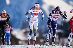 February 24, 2019 - Seefeld In Tirol, AUSTRIA - 190224 Stina Nilsson of Sweden competes in women's team sprint semi final during the FIS Nordic World Ski Championships on February 24, 2019 in Seefeld in Tirol..Photo: Joel Marklund / BILDBYRN / kod JM / 87888 (Credit Image: © Joel Marklund/Bildbyran via ZUMA Press)