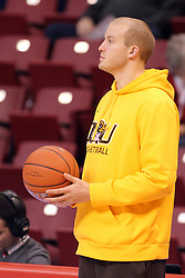 29 December 2014:   during an NCAA non-conference interdivisional exhibition game between the Quincy University Hawks and the Illinois State University Redbirds at Redbird Arena in Normal Illinois.