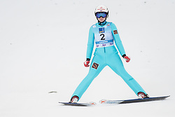 February 8, 2019 - Anna Shpyneva of Russia on first competition day of the FIS Ski Jumping World Cup Ladies Ljubno on February 8, 2019 in Ljubno, Slovenia. (Credit Image: © Rok Rakun/Pacific Press via ZUMA Wire)