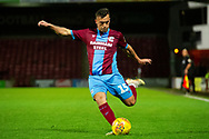 Scunthorpe United midfielder Clayton Lewis (15) during the EFL Sky Bet League 1 match between Scunthorpe United and Wycombe Wanderers at Glanford Park, Scunthorpe, England on 29 December 2018.