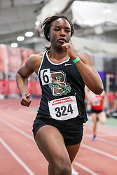 womens 200 meters, heat 12, Brown, Sydney Scott<br /> BU John Terrier Classic <br /> Indoor Track & Field Meet