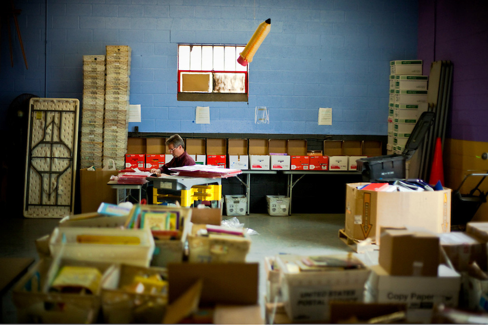 Classroom Central provides a thrifty alternative for local school teachers in need of school supplies to offset the budgetary restraints of the local school districts.
