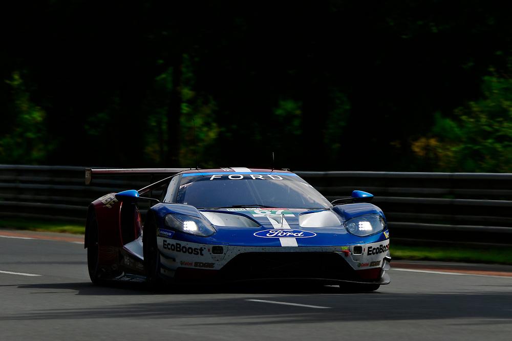 #67 Ford Chip Ganassi Racing Ford GT: Andy Priaulx, Harry Tincknell, Tony Kanaan<br /> Wednesday 13 June 2018<br /> 24 Hours of Le Mans<br /> 2018 24 Hours of Le Mans<br /> Circuit de la Sarthe  FR<br /> World Copyright: Scott R LePage