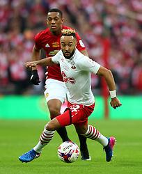 Nathan Redmond of Southampton  - Mandatory by-line: Matt McNulty/JMP - 26/02/2017 - FOOTBALL - Wembley Stadium - London, England - Manchester United v Southampton - EFL Cup Final