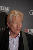Actor Richard Gere at the Gala screening of Time Out of Mind at the Dublin Film Festival, Savoy Cinema, Dublin, Ireland, Friday 27th February 2016. Photograph: Doreen Kennedy