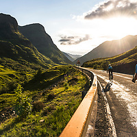 Road Bikes. Sunshine. Scotland. Shot for Endura.