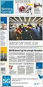 September 22, 2021 - CANADA: Front-page: Today's Newspapers In Canada