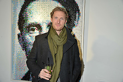Actor SAM HOARE at a private view of works by Fernando Botero held at the Opera Gallery London, 134 New Bond Street, London on 10th February 2015.