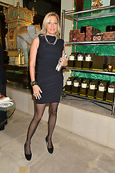 NADJA SWAROVSKI at the London debut of Nest - an organisation to promote peace and prosperity in partnership with artisans worldwide, held at Thomas Goode & Co, South Audley Street, London on 4th November 2014.