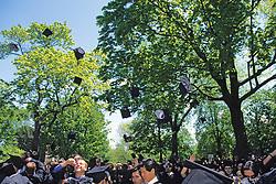 Throwing Caps, Tufts University 1997 Graduation