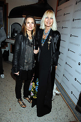 Left to right, DAISY BATES and her mother VIRGINIA BATES at the Grand Classics screening of the film 'Don't Look Now' sponsored by Motorola held at The Electric Cinema, 181 Portobello Road, London W11 on 24th September 2007. <br /><br />NON EXCLUSIVE - WORLD RIGHTS