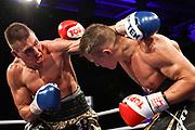 Boxen: SES-Boxgala, Magdeburg, 17.07.2021<br /> IBF-/ WBC-Youth Championship: Tom Dzemski (GER) - Michael Eifert (GER)<br /> © Torsten Helmke