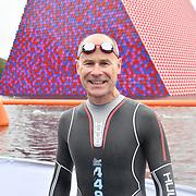 Hugh Brasher participle Swim Serpentine 2018, London, UK. 22 September 2018.