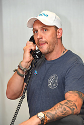 September 12, 2018 - London, England, United Kingdom - 9/11/18.Tom Hardy at the 14th Annual BGC Charity Day at BGC Partners in Canary Wharf, London, England, UK. (Credit Image: © Starmax/Newscom via ZUMA Press)