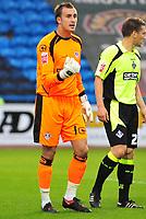 Football<br /> Carlisle United v Oldham Athletic, Carling Cup Round One, Brunton Park. Dean Brill (Oldham Athletic Goalkeeper)<br /> 11/08/2009. Credit Colorsport / Darren Blackman