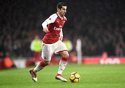 File photo dated 03-02-2018 of Arsenal's Henrikh Mkhitaryan.