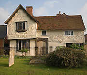 Grade One fifteenth century historic Great House at Clare, Suffolk, England