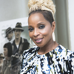 December 11, 2017 - FILE - Golden Globes 2018 Nominees - Nominated for Best Supporting Actress - Mary J. Blige, Mudbound - September 28, 2017 - Hollywood, California, U.S. - Singer MARY J. BLIGE promotes movie 'Mudbound.'  (Credit Image: © Armando Gallo via ZUMA Studio)