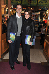 NATASHA KAPLINSKY and JUSTIN BOWER attends the premier of 2012 Cirque du Soleil's Totem at the Royal Albert Hall, London on 5th January 2012,